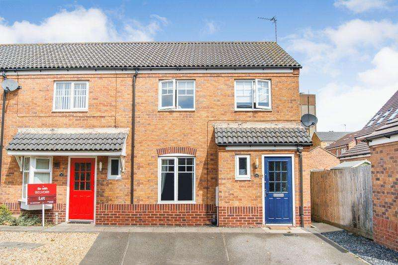3 Bedrooms End Of Terrace House for sale in Kedleston Road, Grantham