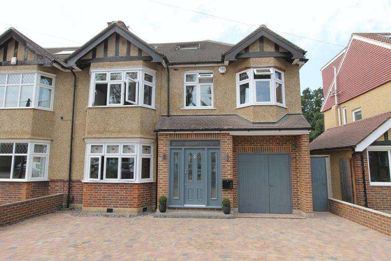 5 Bedrooms Semi Detached House for sale in Wickham Avenue, Cheam