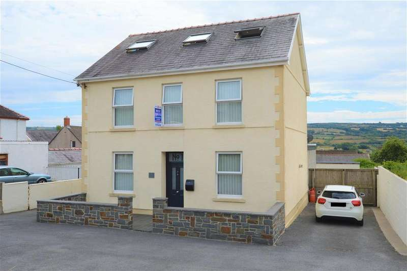 6 Bedrooms Detached House for sale in Heol Bancyroffis, Pontyates, Llanelli
