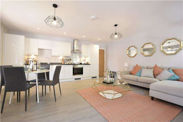 2 Bedrooms Flat for sale in Plot 16 The Old Library, Cheltenham Road, BRISTOL, BS6 5QX