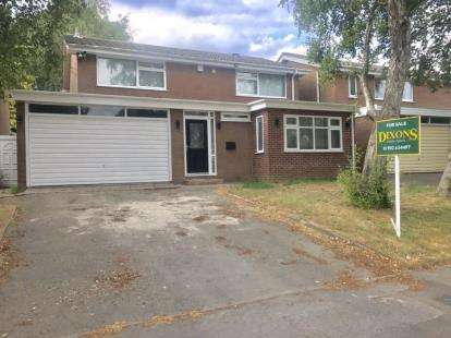 5 Bedrooms Detached House for sale in Gorway Gardens, Walsall, West Midlands
