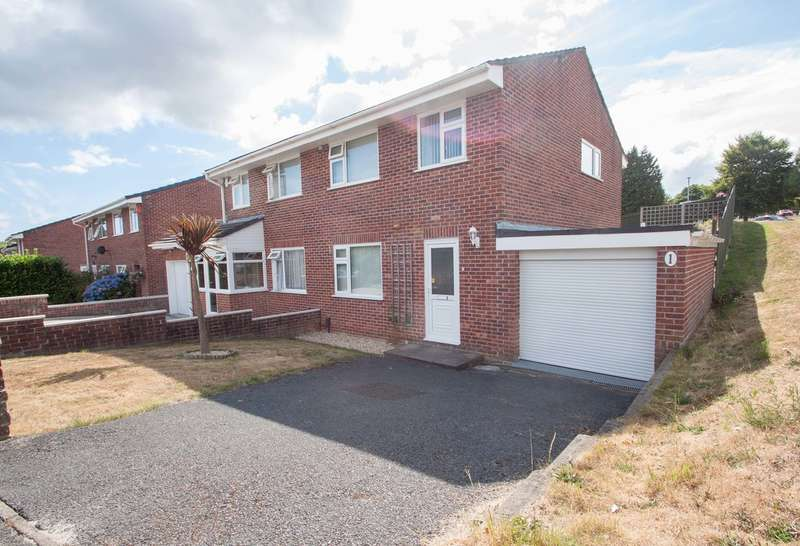 3 Bedrooms Semi Detached House for sale in Mainstone, Plymouth