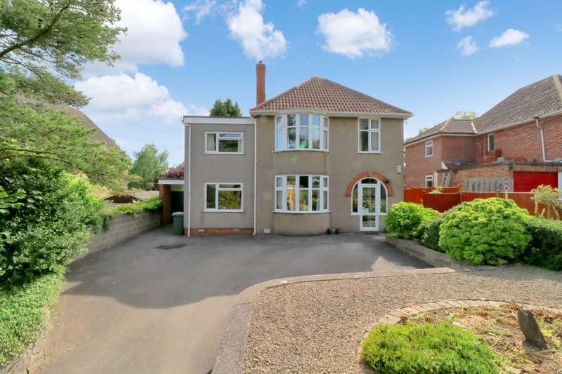 4 Bedrooms Detached House for sale in Somerton Road, Street