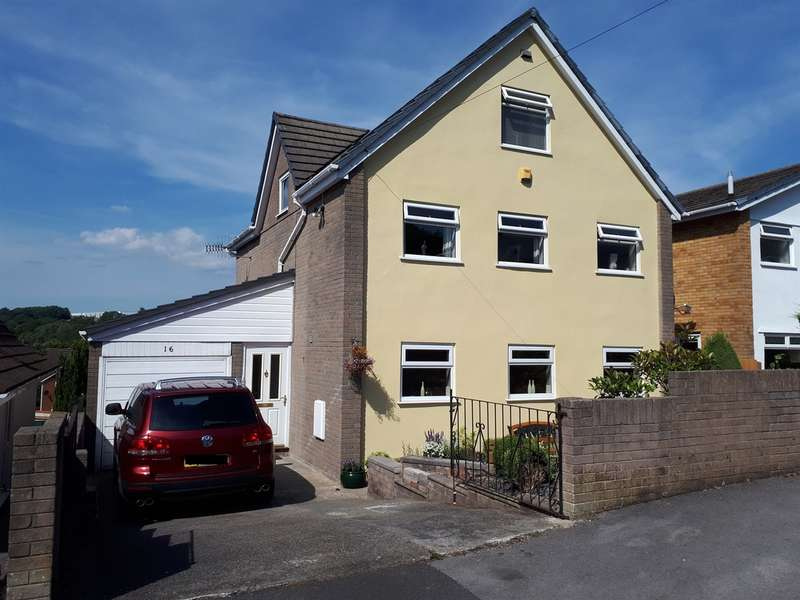 5 Bedrooms Detached House for sale in Gellideg Heights, Maesycwmmer, HENGOED