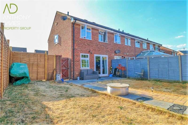 3 Bedrooms End Of Terrace House for sale in Tarpan Way, Turnford, EN10