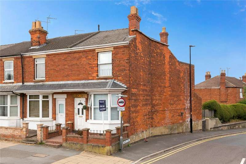 2 Bedrooms End Of Terrace House for sale in Grantham Road, Sleaford, Lincolnshire, NG34