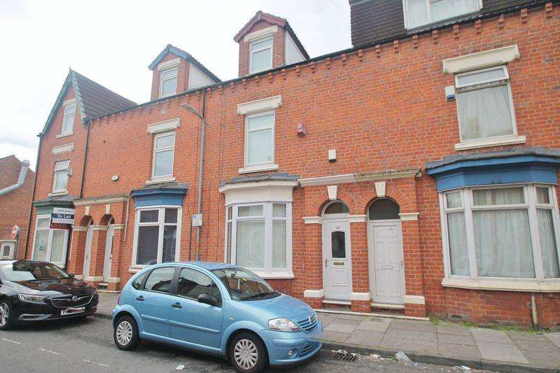 4 Bedrooms Terraced House for sale in Victoria Road, Middlesbrough