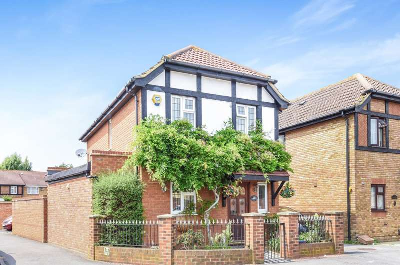 3 Bedrooms Detached House for sale in Churchill Close, Feltham, TW14