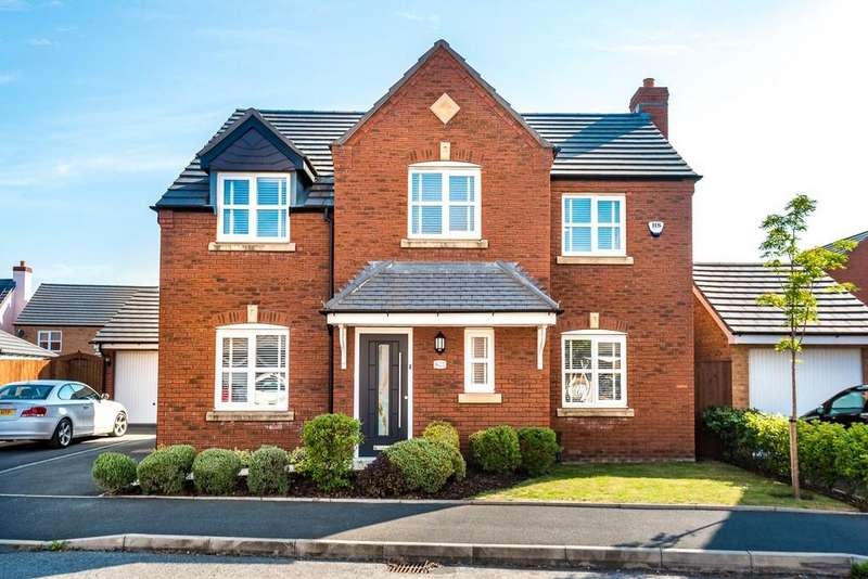 4 Bedrooms Detached House for sale in Linby Way, Waterside Village, St. Helens