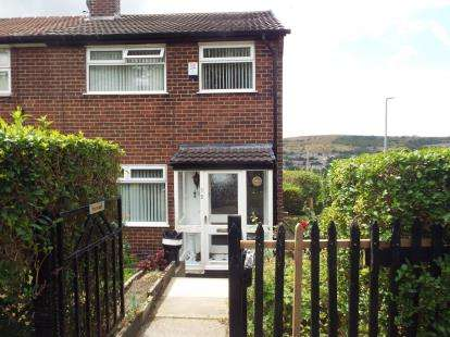 3 Bedrooms End Of Terrace House for sale in Gorse Avenue, Mossley, Ashton-Under-Lyne, Greater Manchester