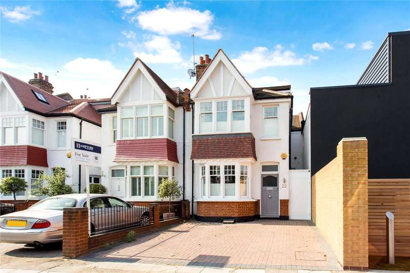 4 Bedrooms Semi Detached House for sale in Barrowgate Road, London, W4