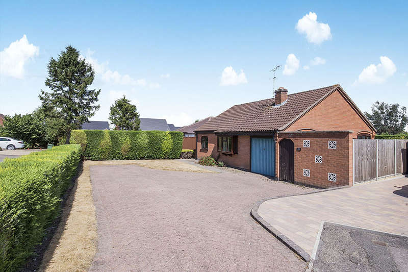 3 Bedrooms Detached Bungalow for sale in Fosse Close, Enderby, Leicester, LE19