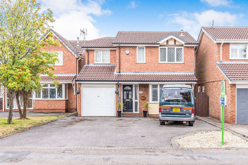 4 Bedrooms Detached House for sale in Hedge Road, Hugglescote, Coalville, LE67