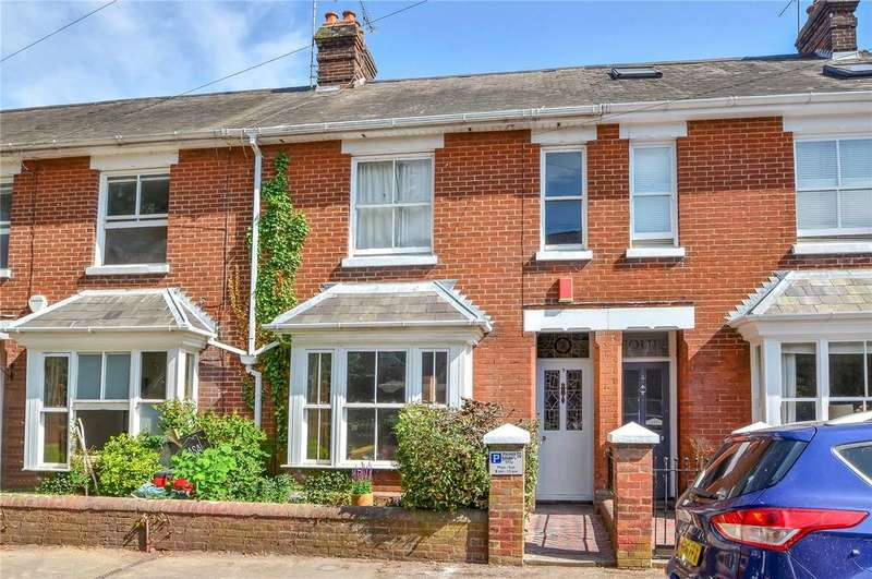 4 Bedrooms Terraced House for sale in King Alfred Terrace, Winchester, Hampshire, SO23