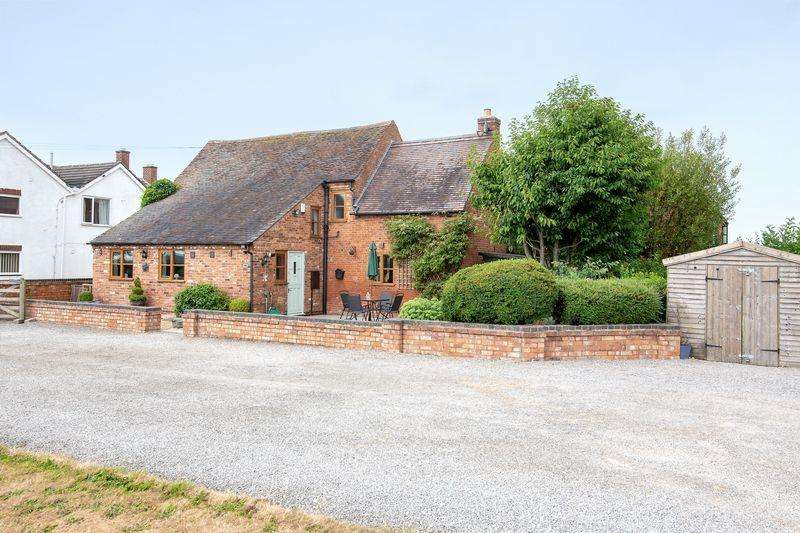 3 Bedrooms Barn Conversion Character Property for sale in Lullington Road, Edingale
