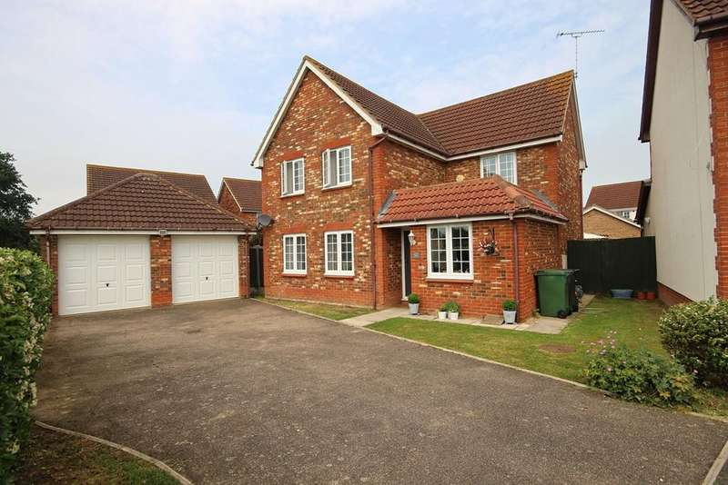 4 Bedrooms Detached House for sale in Dapifer Drive, Braintree, CM7