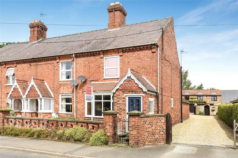 2 Bedrooms End Of Terrace House for sale in Church Lane, Navenby, LN5