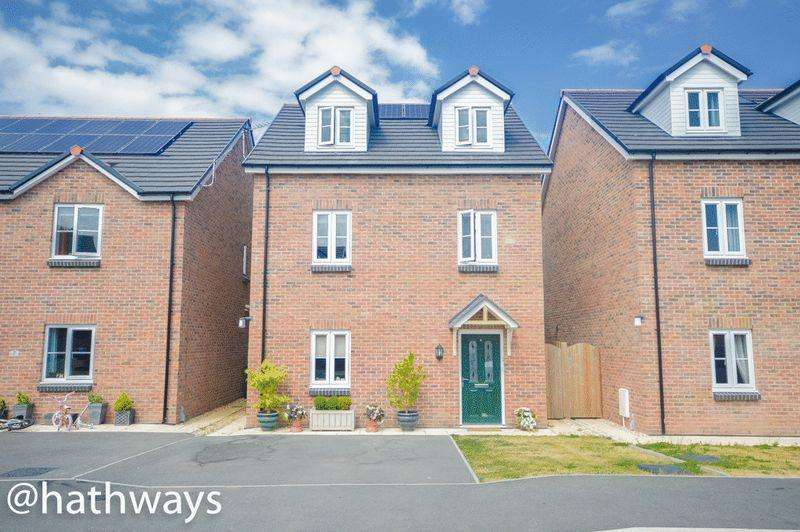 4 Bedrooms Detached House for sale in Sol Invictus Place, Newport