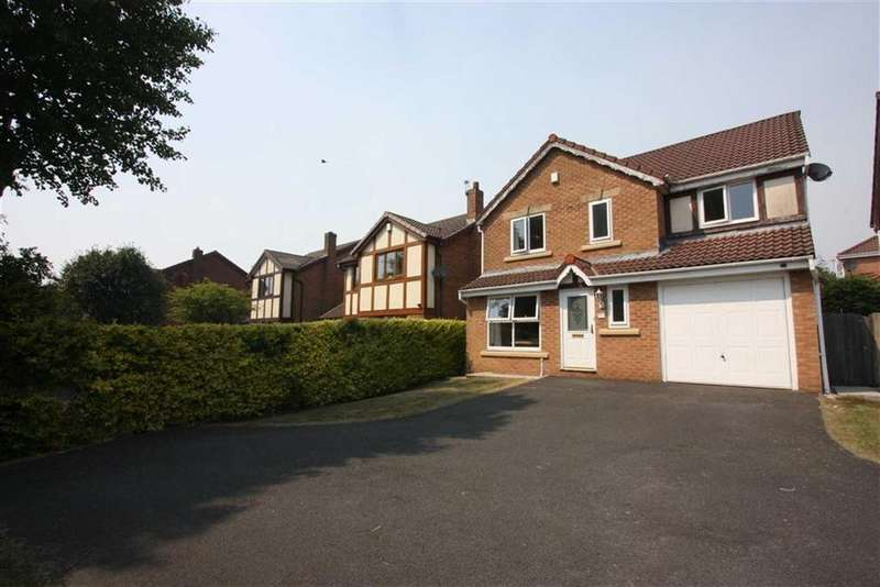 4 Bedrooms Detached House for sale in Radbourne Grove, Ladybridge, Bolton
