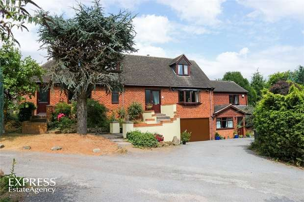 5 Bedrooms Detached House for sale in Quarry Hill, Wilnecote, Tamworth, Staffordshire