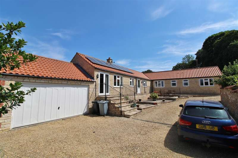 3 Bedrooms Detached Bungalow for sale in Stone Haven, Back Lane, Colsterworth, Grantham