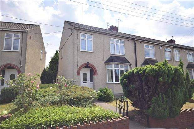 3 Bedrooms End Of Terrace House for sale in Windsor Place, Mangotsfield, BRISTOL, BS16 9DB