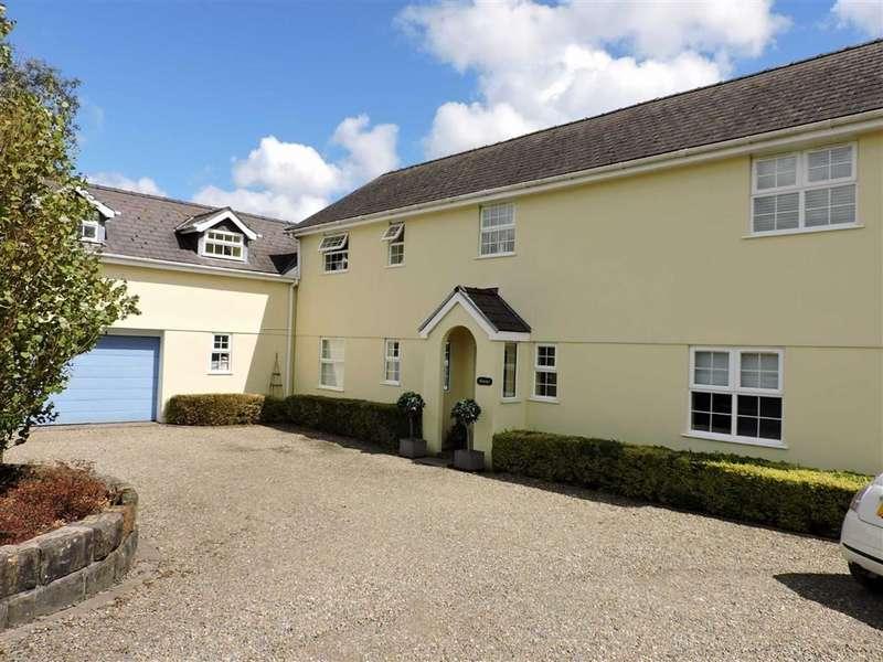 5 Bedrooms Detached House for sale in Alltyferin Road, Nantgaredig, Carmarthen