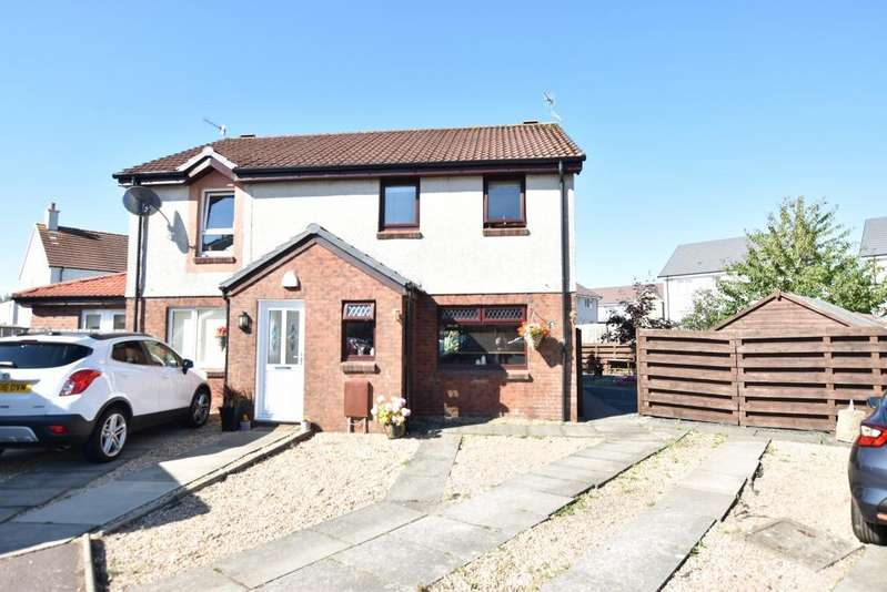 2 Bedrooms Semi-detached Villa House for sale in 45 Dornal Drive, Troon, KA10 7JZ