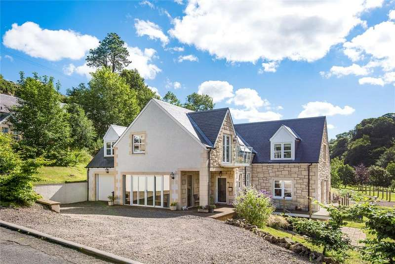 4 Bedrooms Detached House for sale in Ladeside House, Edington Mill, Duns, Berwickshire
