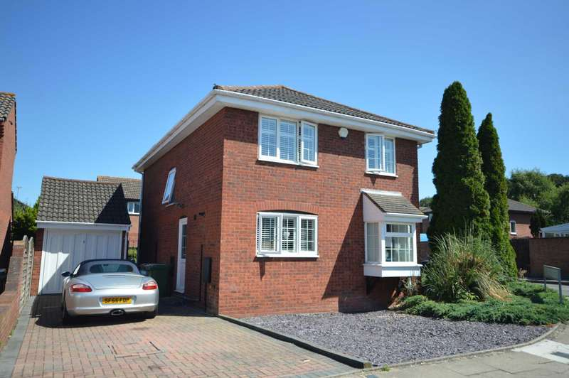 4 Bedrooms Detached House for sale in Sampson Close
