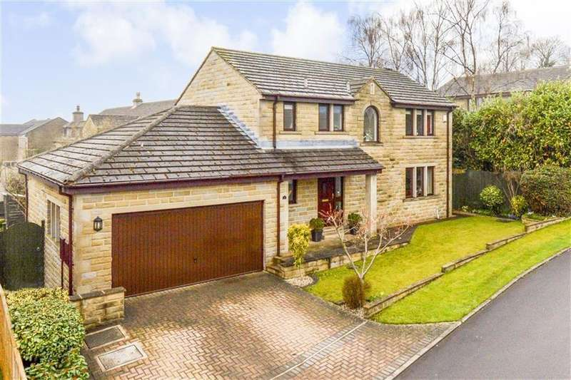 4 Bedrooms Detached House for sale in Sunways, Mirfield, WF14