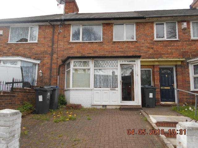 3 Bedrooms Terraced House for sale in Hobmoor Road, Yardley, BIRMINGHAM B25
