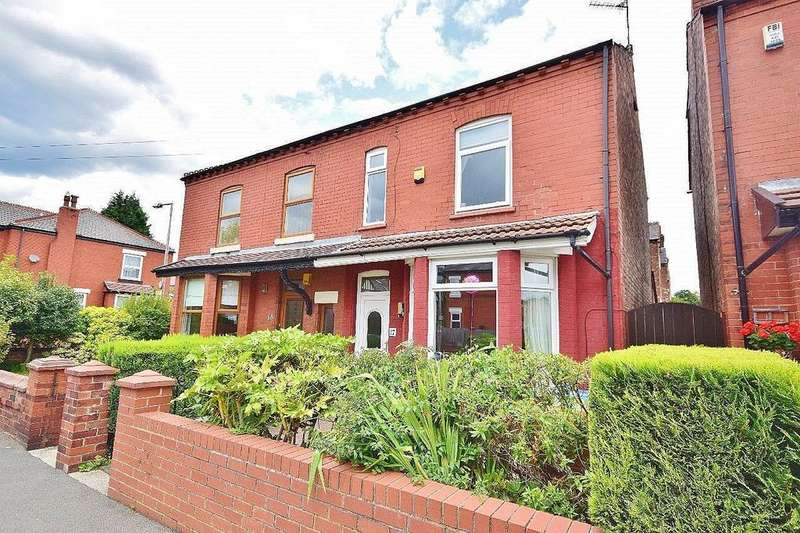 4 Bedrooms Semi Detached House for sale in Huntley Road, Cheadle Heath