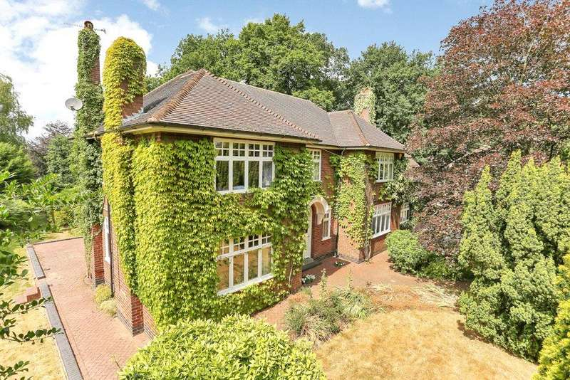 5 Bedrooms Detached House for sale in Ashby-de-la-Zouch