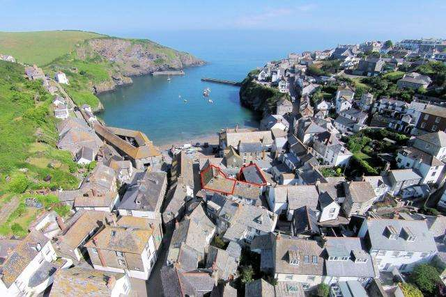 5 Bedrooms House for sale in Kittiwake Annexe, 7/9 Middle Street, Port Isaac