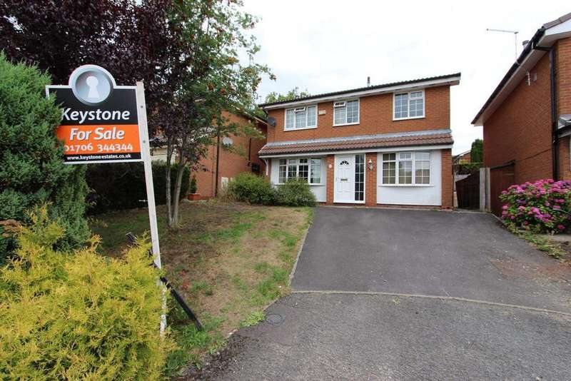 4 Bedrooms Detached House for sale in Saxwood Close, Norden, Rochdale