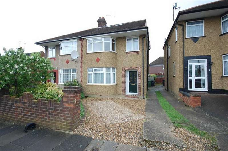 4 Bedrooms Semi Detached House for sale in Wilsmere Drive, Northolt