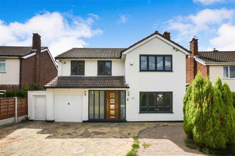 5 Bedrooms Detached House for sale in Woburn Drive, Hale, Cheshire, WA15