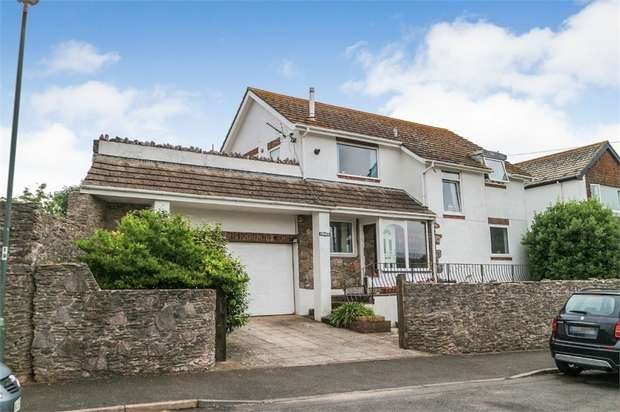 4 Bedrooms Detached House for sale in South Furzeham Road, Brixham, Devon