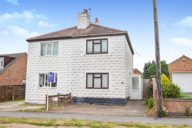 2 Bedrooms Semi Detached House for sale in Rothley Road, Mountsorrel, Loughborough
