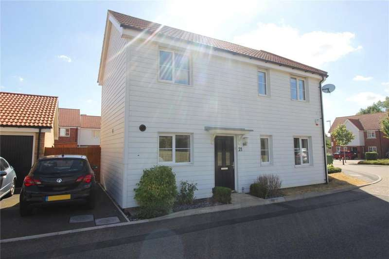 2 Bedrooms End Of Terrace House for sale in Markhams Close, Basildon, Essex, SS15