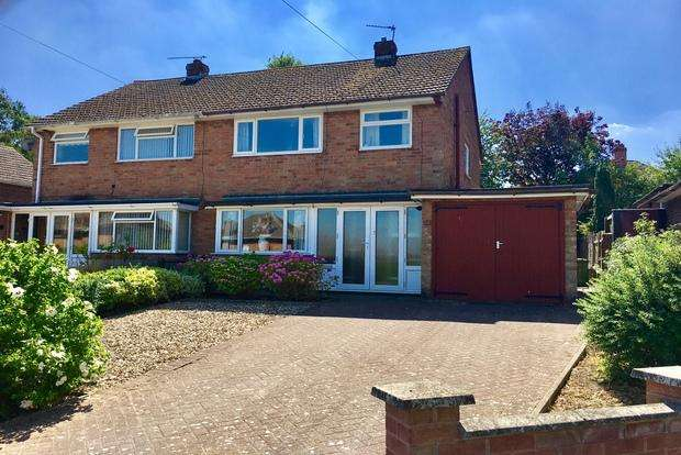 3 Bedrooms Semi Detached House for sale in Waverley Court, Melton Mowbray, LE13