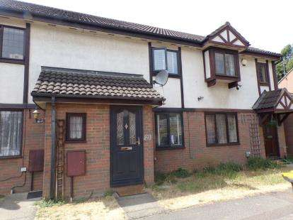 2 Bedrooms Terraced House for sale in Queensbury Close, Queens Park, Bedford, Bedfordshire