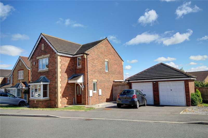 3 Bedrooms Detached House for sale in Welby Drive, Ushaw Moor, Durham, DH7