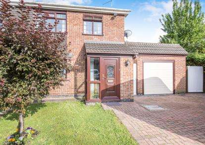 3 Bedrooms Semi Detached House for sale in Breachfield Road, Barrow Upon Soar, Loughborough, Leicestershire