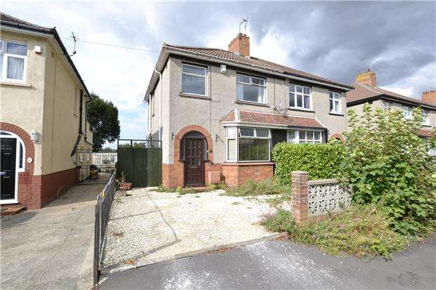3 Bedrooms Semi Detached House for sale in Luckington Road, Horfield, Bristol, BS7 0US