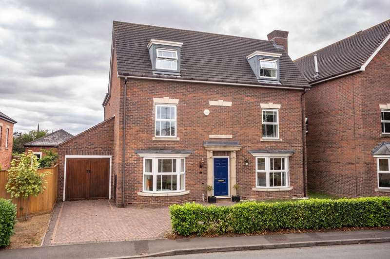 5 Bedrooms Detached House for sale in Abnalls Lane, Lichfield, WS13