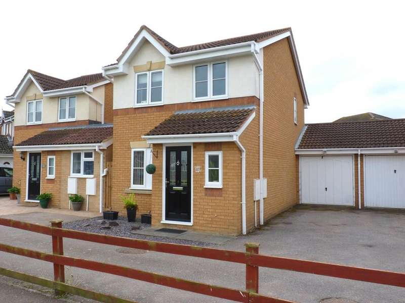 3 Bedrooms Link Detached House for sale in Linnet Close, Sandy SG19