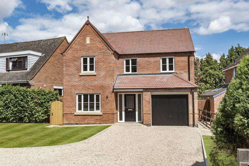 4 Bedrooms Detached House for sale in Hawthorn House, Node Hill, Studley