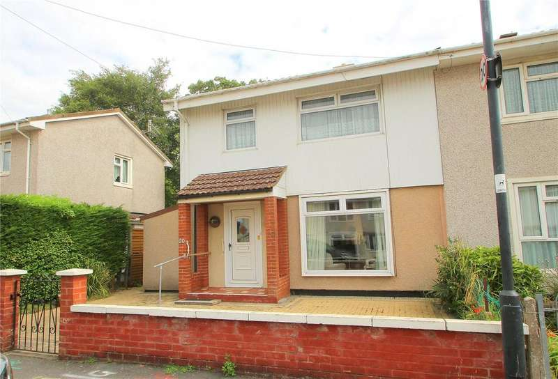 3 Bedrooms Semi Detached House for sale in Silbury Road, Ashton Vale, Bristol, BS3